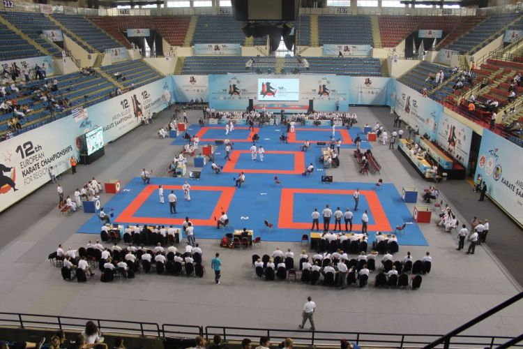 12nd EUROPEAN KARATE CHAMPIONSHIPS FOR REGIONS