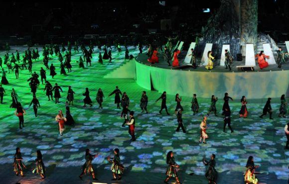 Eskişehir 2013 Culture Capital City of Turkic World Opening Ceremony